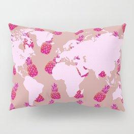 Pineapple world Pillow Sham