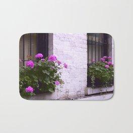 Pink Flower Box Bath Mat