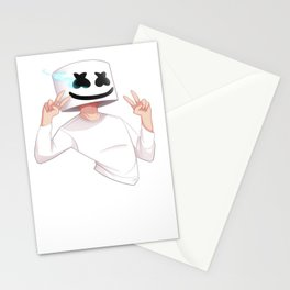 Marshmello Draw 1 Stationery Cards