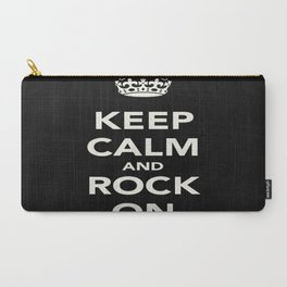 Keep Calm and Rock On Carry-All Pouch