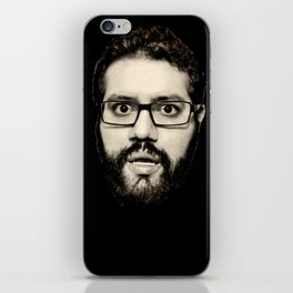 Resting Mitch Face iPhone Skin