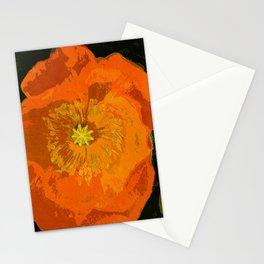 Orange Poppy Stationery Cards