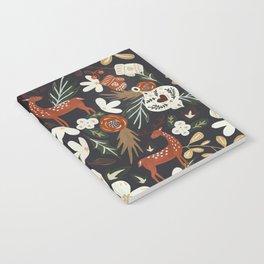 Christmas holiday night III Notebook