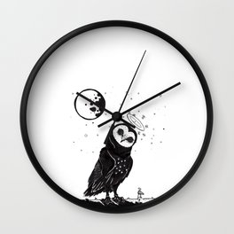 It's Time to go now. Wall Clock