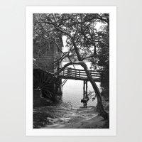 Grist Mill - Stone Mountain, GA Art Print