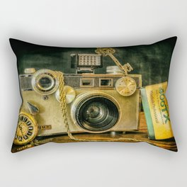 Argus Vintage Camera Rectangular Pillow