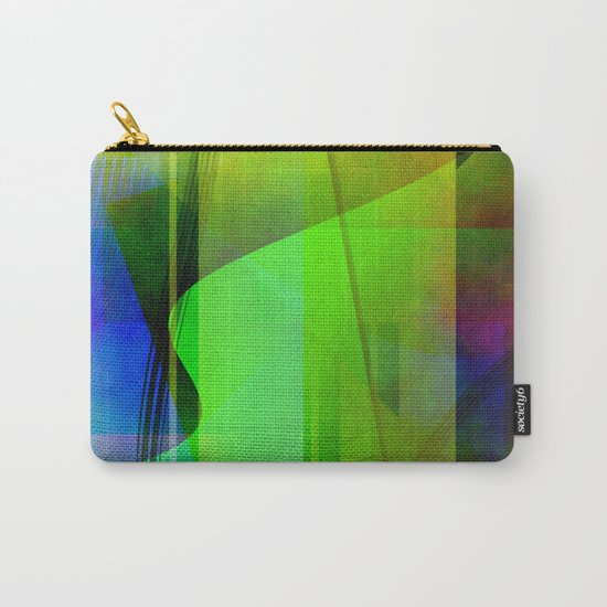 Multicolored abstract 2016 / 006 Carry-All Pouch