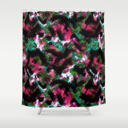 """Watercolor glamour "".  ""Watermelon  juice"" . Shower Curtain"