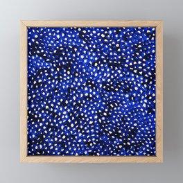 Infinity nets by Yayoi kusam Framed Mini Art Print
