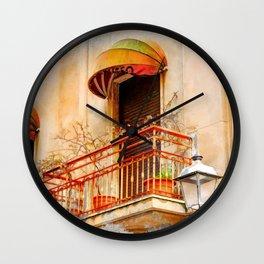 Trapani art 14 Sicily Wall Clock