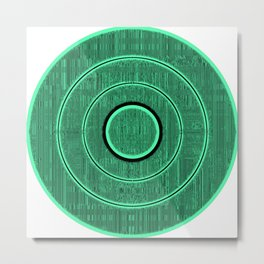 green frequency Metal Print