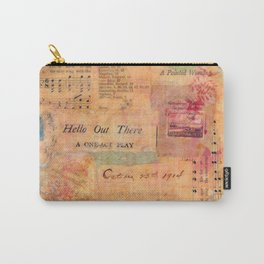 Hello Out There Carry-All Pouch