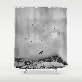 Sacred Flight Shower Curtain