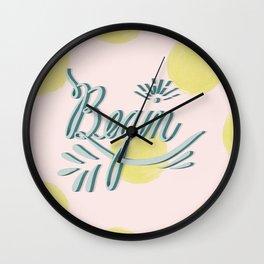 Begin Wall Clock
