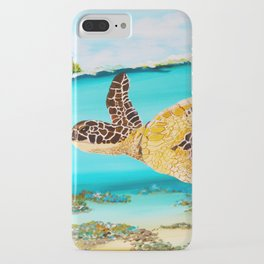 Swimming Free iPhone Case