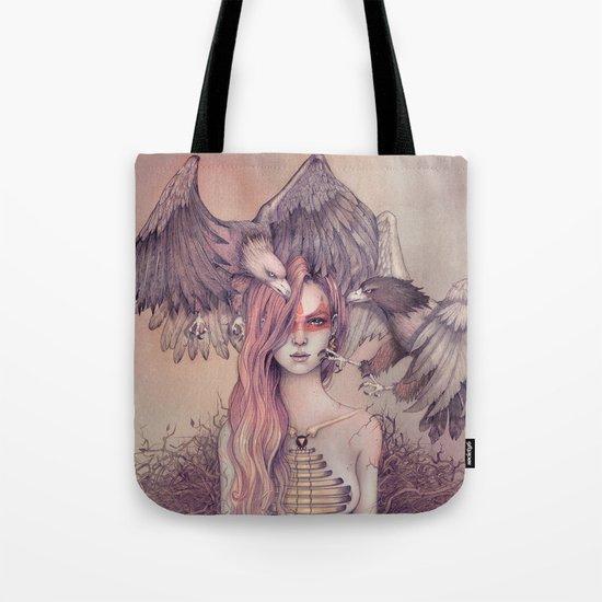 Eagle princess Tote Bag