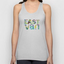 East Van colour Unisex Tank Top
