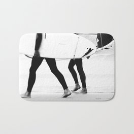 catch a wave Bath Mat