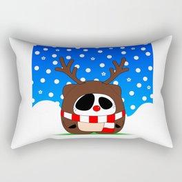 Panda Plopz (Reindeer) Rectangular Pillow