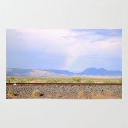 Rainbow Road Rug