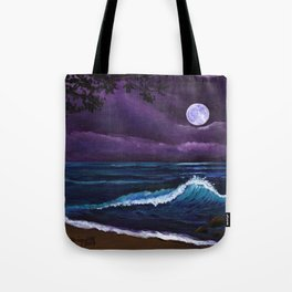 Romantic Kauai Moonlight Tote Bag