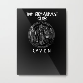 Breakfast Coven Metal Print