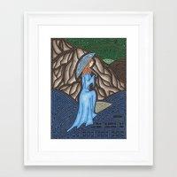 monet Framed Art Prints featuring Monet by Gabriel Guyer