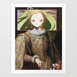 Code Geass CC Art Print