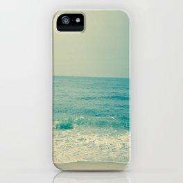 Blue H20 iPhone Case