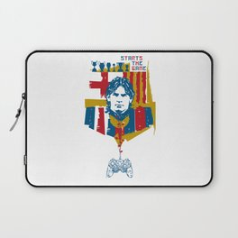 Starts the game Laptop Sleeve