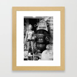 The Robots Framed Art Print