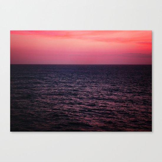 Pretty Pink Sunset Canvas Print