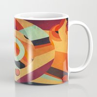 circus Mugs featuring Circus by VessDSign