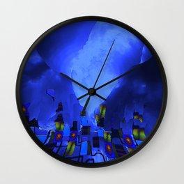 beneath the walls Wall Clock