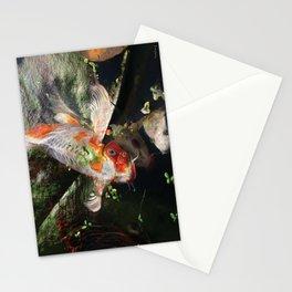 Koi Lily Pads Stationery Cards