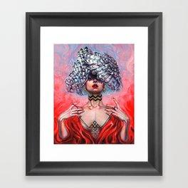 BLACK LODGE Framed Art Print