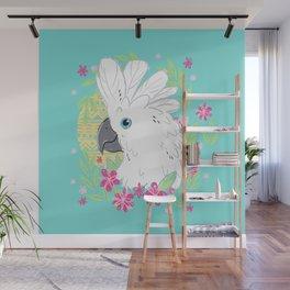 Umbrella Cockatoo Wall Mural