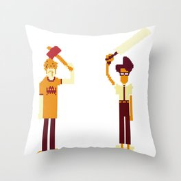The IT Crowd: Masters of the ITverse! Throw Pillow