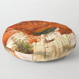 Natural Bridge - Bryce Canyon Floor Pillow