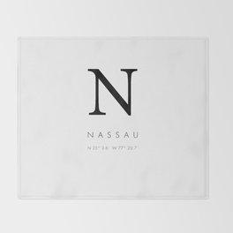25North Nassau Throw Blanket