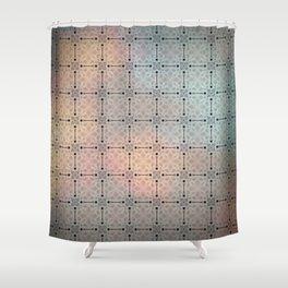 Flowered twilight Shower Curtain