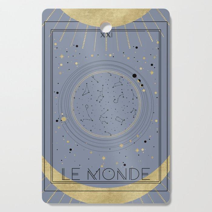 The World or Le Monde Tarot Cutting Board