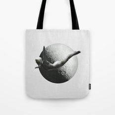 Moon Diver Tote Bag