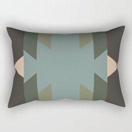 Green Star  - does it belong in the Forest or in the Space?? Rectangular Pillow