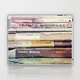 Vintage School Books Laptop & iPad Skin