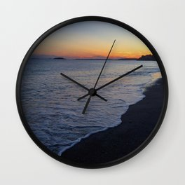 Sunset-Marblehead MA  Wall Clock