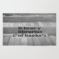 library Area & Throw Rugs featuring Library by KimberosePhotography