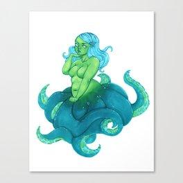 Octobabe Canvas Print