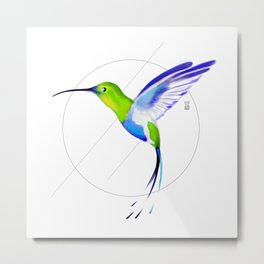 Under the Sign of Colibri Metal Print