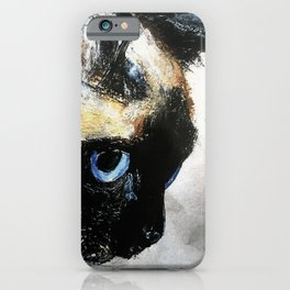 Siamese Cat Right Side Tapestry iPhone Case
